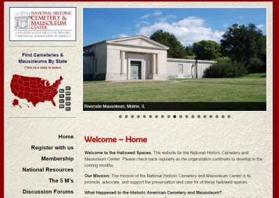 National Historic Cemetery & Mausoleum Center