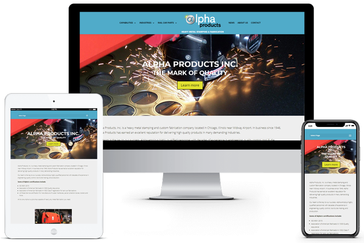 Alpha Products Website