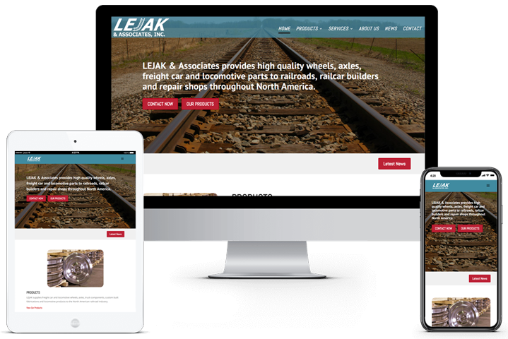 Lejak & Associates, Inc. Website