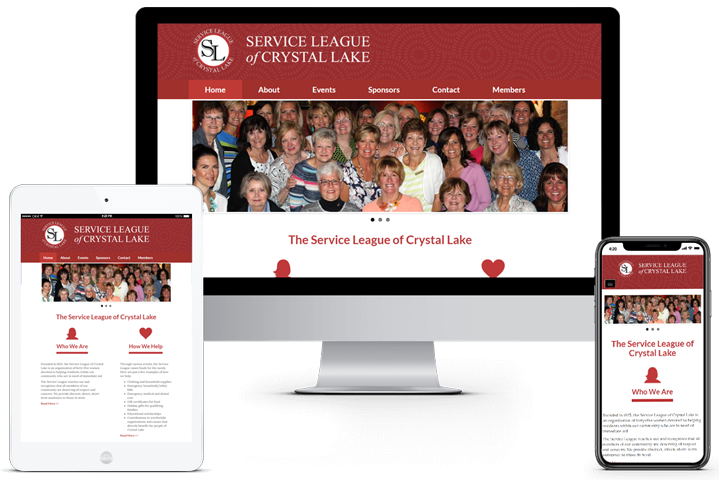 Service League of Crystal Lake Website