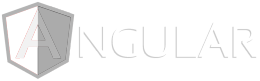 Image of Angular logo, a programming language used for app development.