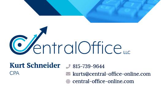 CentralOffice LLC business card