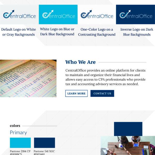 CentralOffice LLC style guide