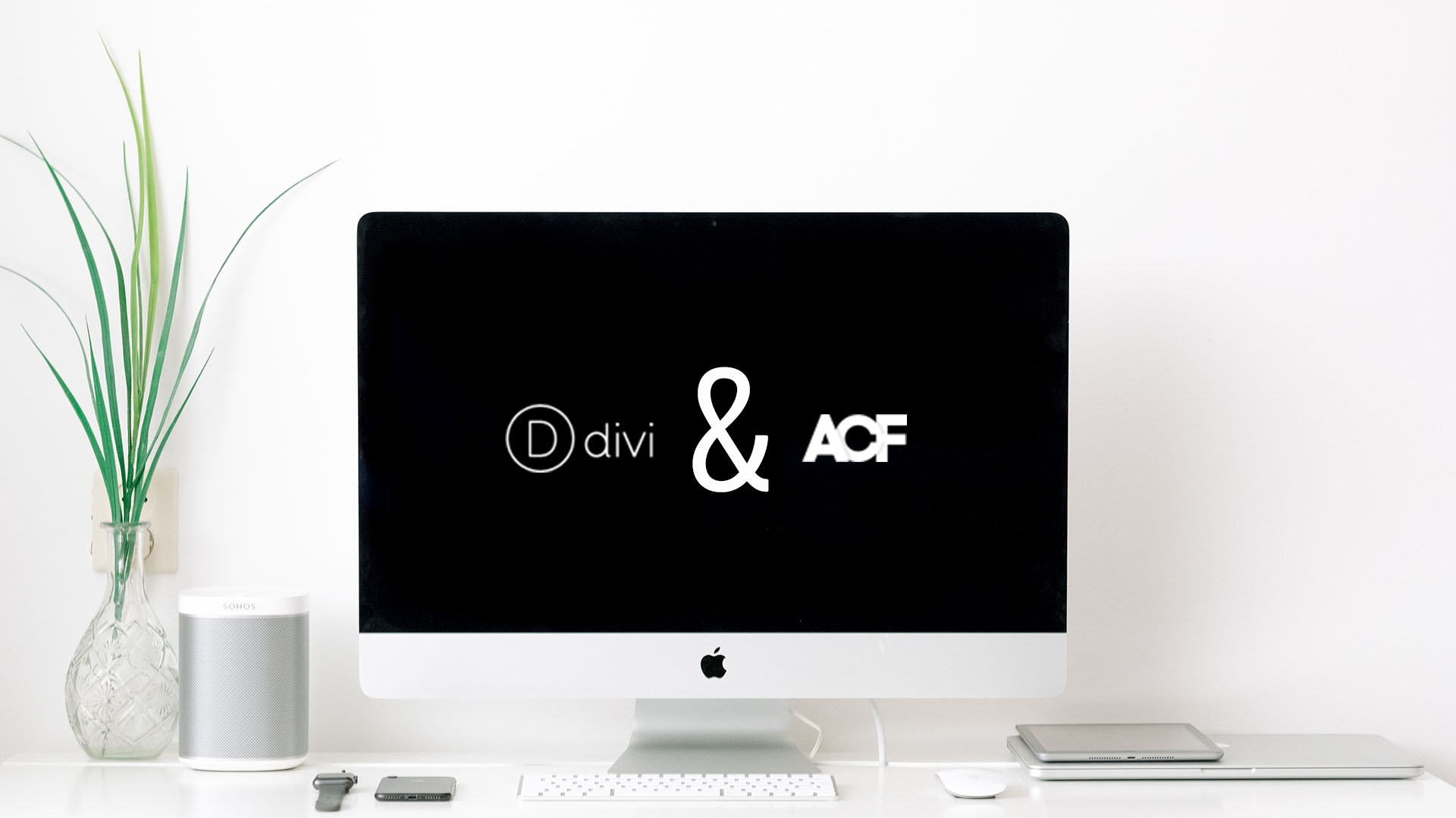 Create a page header using the Divi Theme Builder and ACF