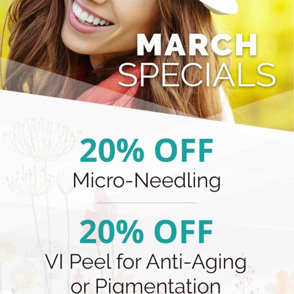 March Specials Ad