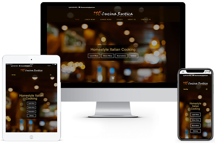 750 Cucina Rustica - Clicks Web Design