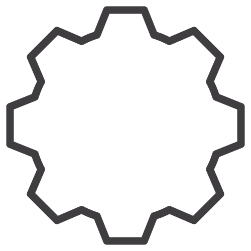 gear outline