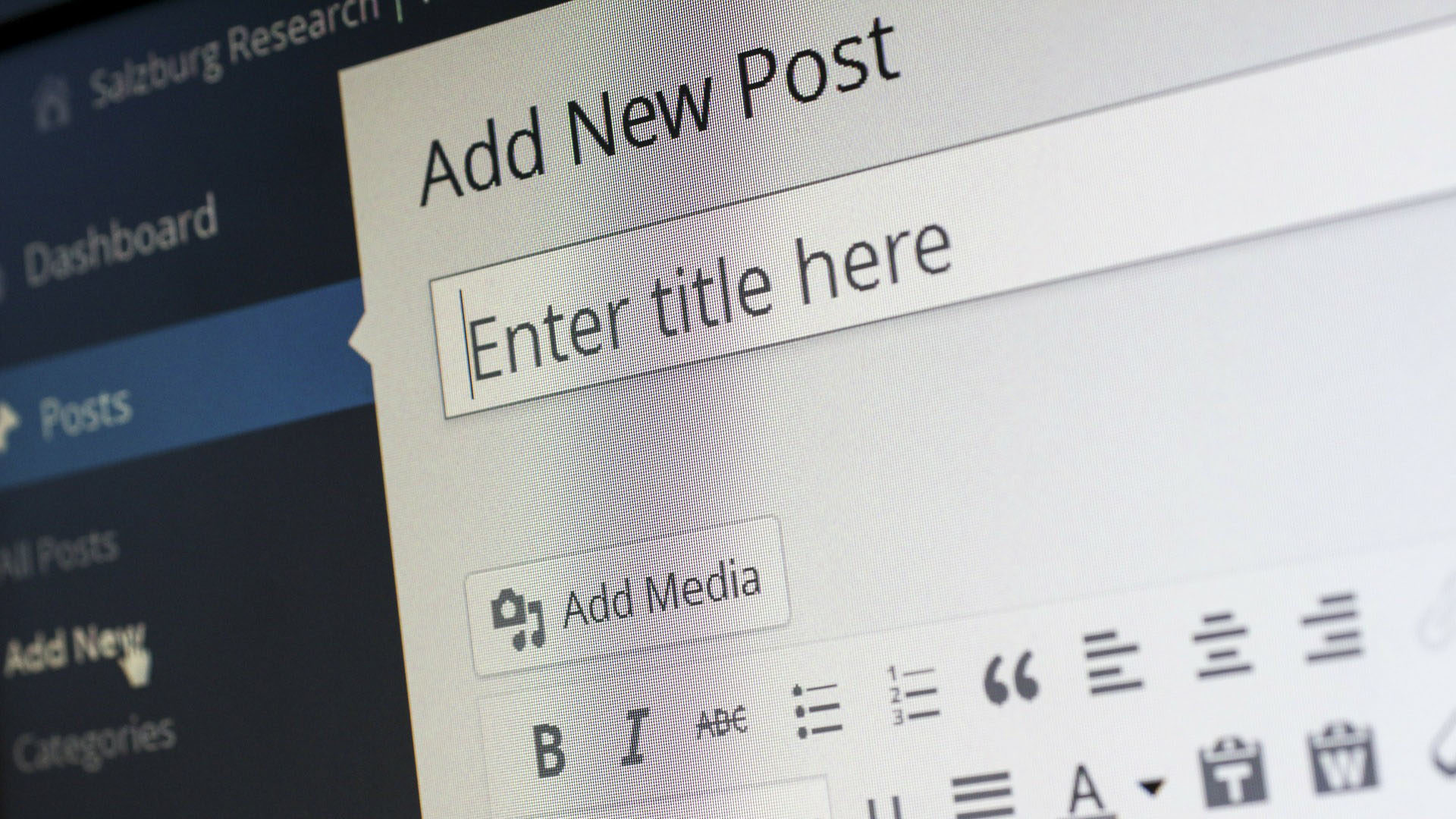 Creating a New Blog Post on Your Divi WordPress Site